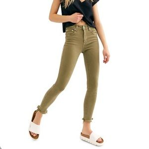 Free People Raw High Rise Jegging 32